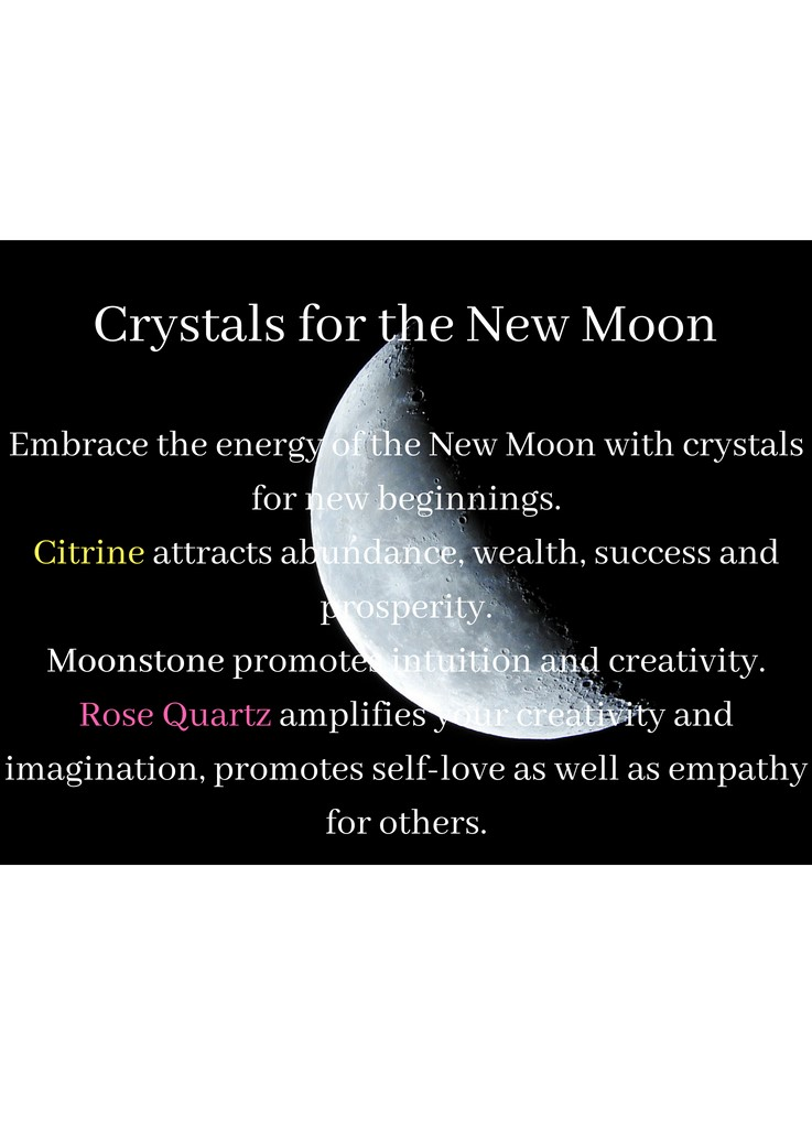 The New Moon is a time for new beginnings